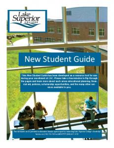 This New Student Guide