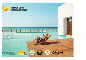 Thomas Cook Hotels & Resorts Sunprime Hotels brand presentation