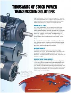 THOUSANDS OF STOCK POWER TRANSMISSION SOLUTIONS