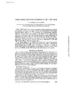 THREE GENES FOR LUPUS NEPHRITIS IN NZB NZW MICE