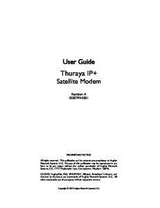Thuraya IP+ Satellite Modem