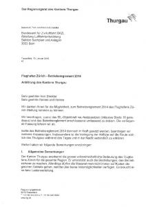 Thurgau \A. Der Regierungsrat des Kantons Thurgau