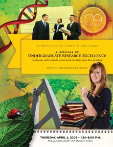 THURSDAY, APRIL 2, :30 5:00 P.M. Celebrating undergraduate research and creativity across the curriculum