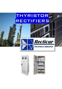 THYRISTOR RECTIFIERS