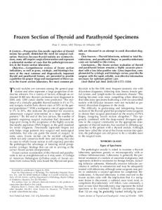 Thyroid nodules are common among the general population