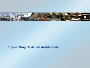 ThyssenKrupp Materials Austria GmbH