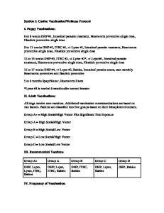 tick preventive single dose