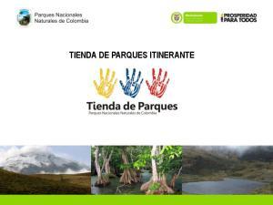 TIENDA DE PARQUES ITINERANTE