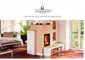 Tiled stoves and thermal storage stoves