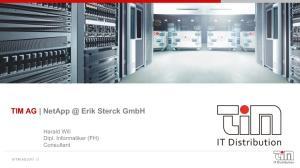 TIM AG Erik Sterck GmbH