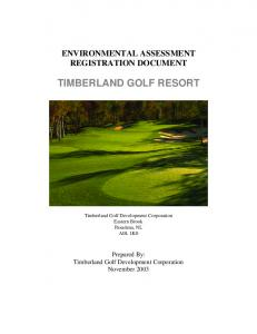 TIMBERLAND GOLF RESORT