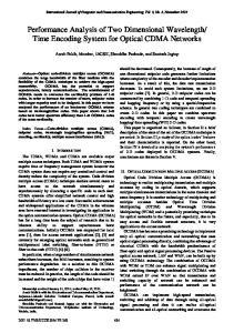 Time Encoding System for Optical CDMA Networks