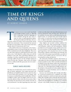 Time of Kings and Queens