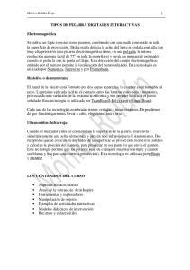 TIPOS DE PIZARRA DIGITALES INTERACTIVAS