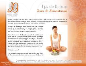 Tips de Belleza Guía de Alimentación