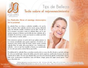 Tips de Belleza Todo sobre el rejuvenecimiento