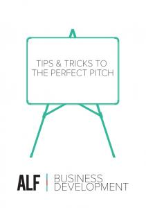 TIPS & TRICKS TO THE PERFECT PITCH BUSINESS DEVELOPMENT
