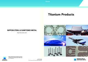 Titanium Titanium Products