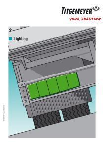 TITGEMEYER Gruppe67GB(0214)1. Lighting
