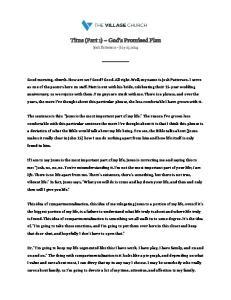 Titus (Part 1) God s Promised Plan