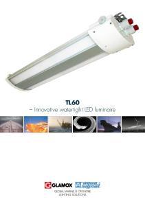 TL60 Innovative watertight LED luminaire