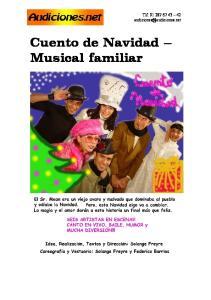 Tlf: Cuento de Navidad Musical familiar