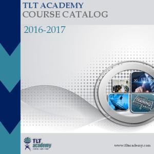 TLT ACADEMY COURSE CATALOG