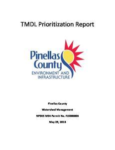 TMDL Prioritization Report