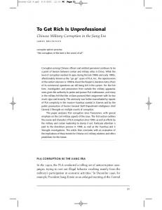 To Get Rich Is Unprofessional