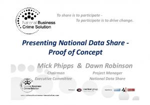 To share is to participate p To participate is to drive change