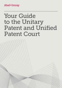to the Unitary Patent and Unified Patent Court