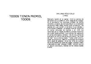 TODOS TIENEN PREMIO, TODOS
