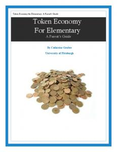 Token Economy For Elementary A Parent s Guide