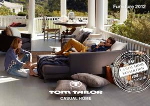 TOM TailOr CaSUal HOME Furniture