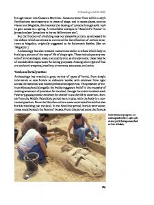 Tombs and burial practices