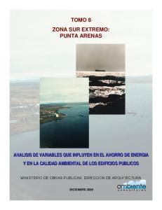 TOMO 8 ZONA SUR EXTREMO: PUNTA ARENAS
