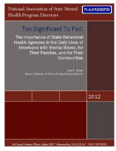 Too Significant To Fail: