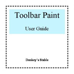 Toolbar Paint. User Guide. Donkey s Stable