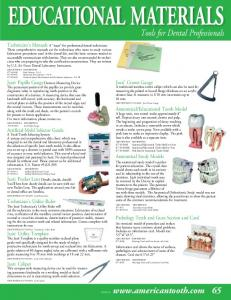 Tools for Dental Professionals