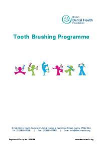 Tooth Brushing Programme
