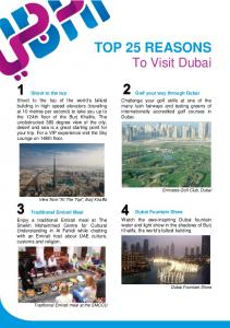 TOP 25 REASONS To Visit Dubai