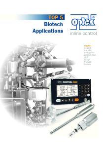 TOP 5 Biotech Applications