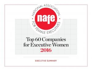Top 60 Companies for Executive Women 2016 EXECUTIVE SUMMARY