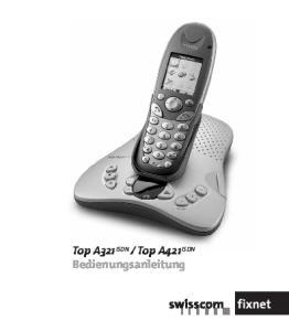 Top A421 ISDN Bedienungsanleitung
