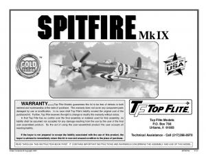 Top Flite Models P.O. Box 788 Urbana, Il Technical Assistance - Call (217) MADE IN USA