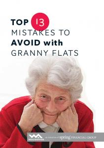 TOP MISTAKES TO AVOID with GRANNY FLATS