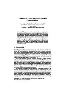 Topological Correction of Subcortical Segmentation