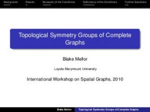 Topological Symmetry Groups of Complete Graphs