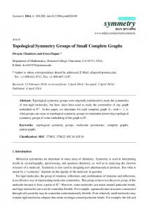 Topological Symmetry Groups of Small Complete Graphs