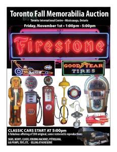 Toronto Fall Memorabilia Auction